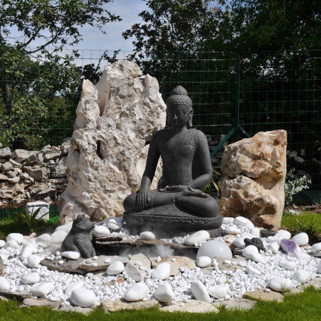 tuin boeddha fontein 001